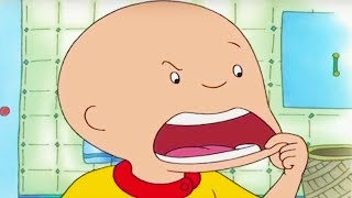 CAILLOU IS ILL | Funny Animated cartoon | Cartoon Caillou | Cartoons for Children