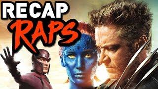 Every X-MEN Movie in 2 Minutes! (RECAP RAPS)