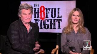 THE HATEFUL 8 Interview w/ Kurt Russell and Jennifer Jason Leigh