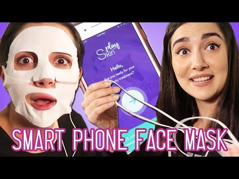 I Tried A Face Mask Controlled By My Phone