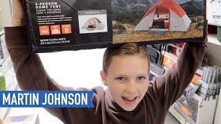 Shopping for Cheap Tents at Walmart   American Road Trip