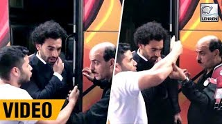 Mohamed Salah Asked Over Excited Fan To Get Of His Shoulder