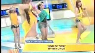 Regine Tolentino Unang hirit sexy dance exercise.mp4