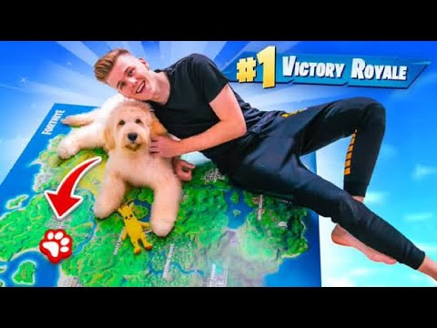 Using A PUPPY To WIN Fortnite Chapter 2