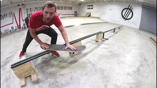 THE FRONT BOARD SLIDE OF DEATH!? / Warehouse Wednesday!