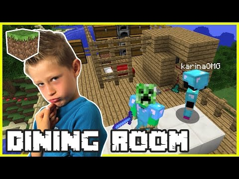 Xxx Mp4 Making A Dining Room With Gamer Girl Karina OMG Minecraft 3gp Sex