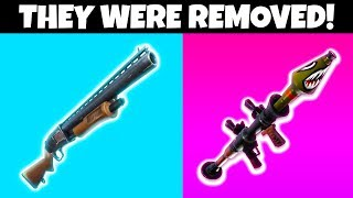 8 Things REMOVED FROM FORTNITE SEASON 9!