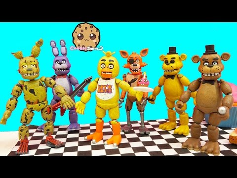 Xxx Mp4 Complete Set Of Five Night S At Freddy S Funko Action Figures Bonus Spring Trap 3gp Sex