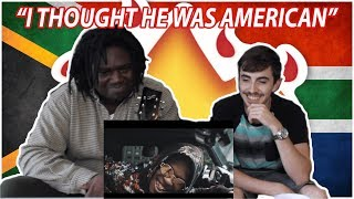 Nasty C - King ft. A$AP Ferg | American React To South African Music