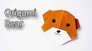Cómo hacer un oso de Origami