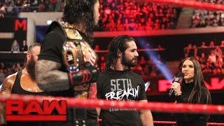 Stephanie McMahon reveals the final member of the Raw team at Survivor Series: Raw, Nov. 7, 2016