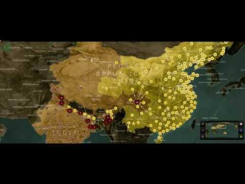 watch China vs India Simulation part #1