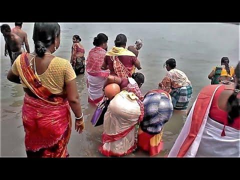 Xxx Mp4 Village Women Child Are River Bathing On Sankranti Festival 3gp Sex