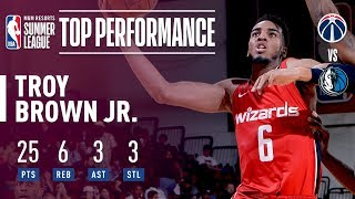 Troy Brown Jr. Drops 25! In The 2018 MGM Resorts Summer League