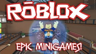 ROBLOX EPIC MINIGAMES! Quest for the Duck!