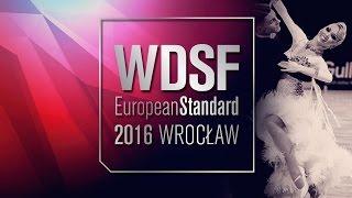 Zharkov - Kulikova, RUS | 2016 European Standard R3 W | DanceSport Total
