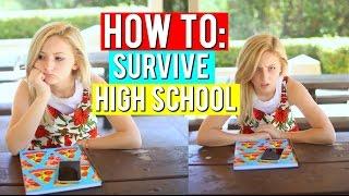 HOW TO SURVIVE HIGH SCHOOL 2016 | Kalista Elaine