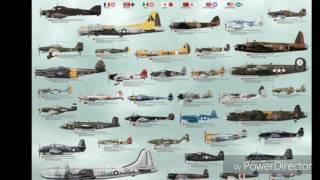 Letadla z 2 světové
