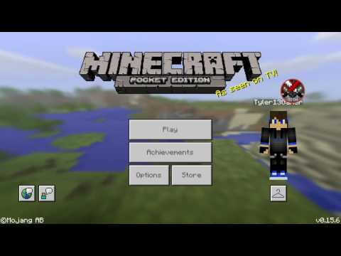 how to get a skin in minecraft pe 0.15.6
