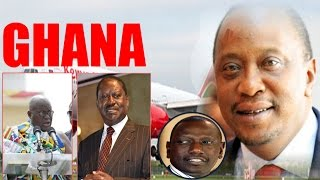 Uhuru Kenyatta Allegedly Denied VIP Treatment in Ghana and Returns Home