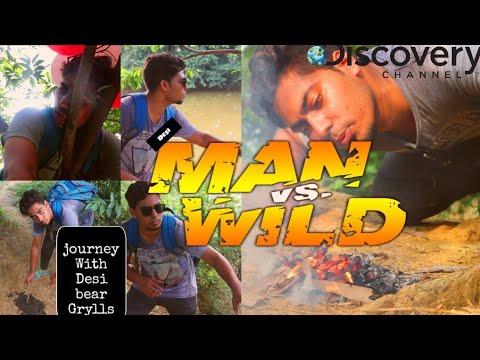 Xxx Mp4 Desi Man VS Wild Man Vs Wild Hindi Comedy Spoof Indian Bear Grylls 3gp Sex