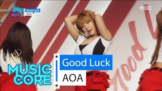 [Comeback Stage] AOA - Good Luck, 에이오에이 - 굿 럭 Show Music core 20160521