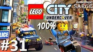 Zagrajmy w LEGO City Tajny Agent (100%) odc. 31 - Wiśniowe Wzgórza 100% | LEGO City Undercover PL