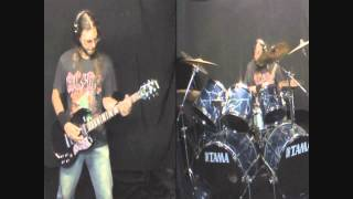 AC/DC - That's the way I wanna Rock'n'Roll Drums & Guitar cover) [HD]