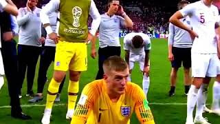 The dream is over for England.. 😥🏴󠁧󠁢󠁥󠁮󠁧󠁿after match