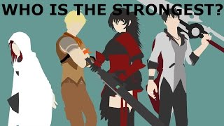 Who is the Strongest Member of Team STRQ? (RWBY Theory)