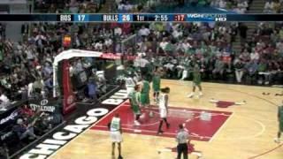 Celtics-Bulls 121-127 I Pierce 37pts,7reb,Rondo 26pts,10ast vs Salmons 38pts,Miller 21pts,14reb