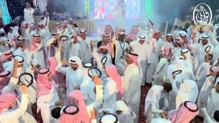 الأوبريت + التكريم في حفل زواج أبناء الشيخ مذكر بن علي بن منشط المقاطي سيف و علي