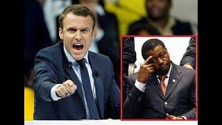 Macron a craché à Faure que c'est son vol des élections qui est la source de la crise togolaise