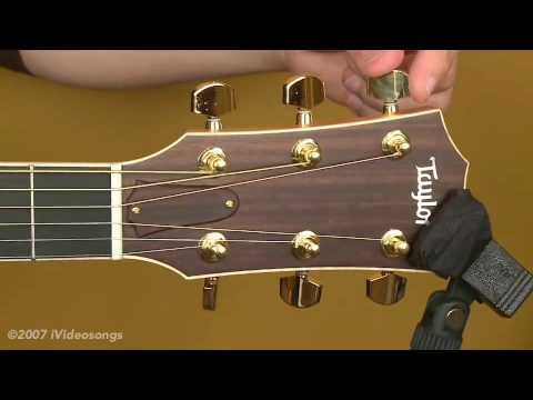 Restringing an Acoustic Guitar