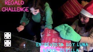 Karol Sevilla/ regalo challenge /ENTREVISTA