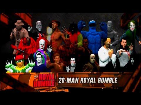WWE 12 Halloween Royal Rumble 2012