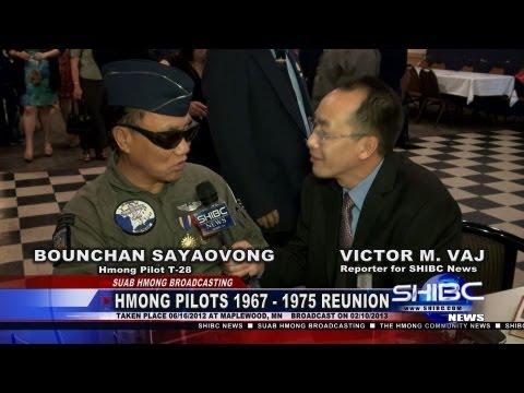 Suab Hmong News:  Exclusive Interviewed Bounchan Sayaovong, Lao Pilot.