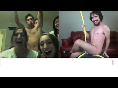 Miley Cyrus - Wrecking Ball (Chatroulette