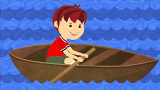 Row Row Row Your Boat - NEW - 1080p (Loop) - Nursery Rhyme