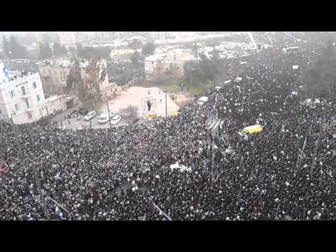 Xxx Mp4 Jerusalem 800 000 Haredim Attend Anti IDF Draft Rally 3gp Sex