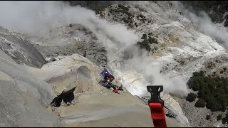 YOSEMITE SLIDE CAUGHT ON CAMERA:  A second landslide in Yosemite National Park has been captured on