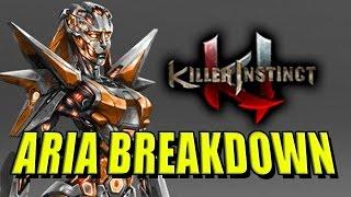 Aria Gameplay Breakdown by Maximilian: Killer Instinct Season 2