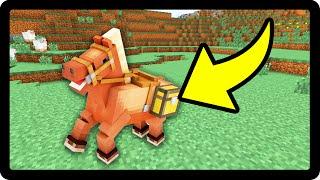 Minecraft PE 0.15.0 : COMO COLOCAR BAÚ NO SEU CAVALO !!!