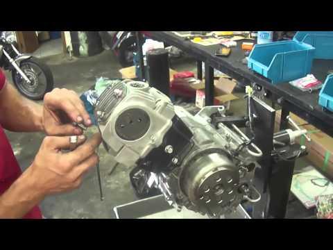 Motor Honda Pop 100 Montagem passo a passo parte 4 Final Cássio Mecânico