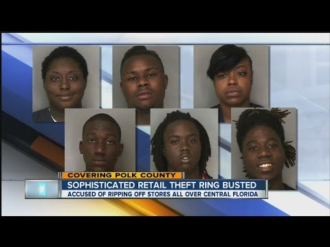 Eight arrested in high-level retail crime ring