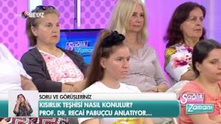 Prof. Dr. Recai Pabuçcu - Beyaz TV Sağlık Zamanı 28.05.2017