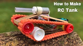 How to Make a Battle Tank with Remote Control that Shoots Bullets