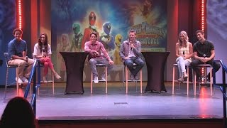 Cast of Power Rangers Super MegaForce Q&A at Nick Hotel