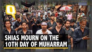 Shias Mourn on  'Ashura' or the 10th Day of Muharram