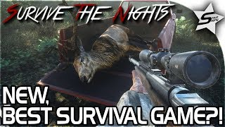 SURVIVE THE NIGHTS NEW GAMEPLAY - NEW, BEST SURVIVAL GAME?! - Survive the Nights Gameplay 2017 - STN